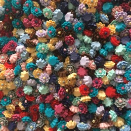 SA476: Resin Flower 12mm, 50 pieces [ A1 ]