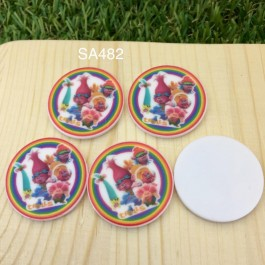 SA482: Trolls Circle 30x30mm, 5 pieces [ Z41 ]