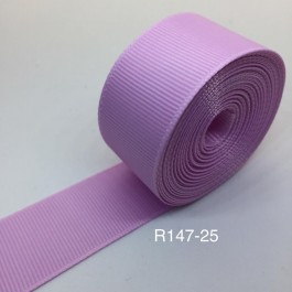 R147-25: Icy Tulip: Grosgrain Ribbon 25mm, 5Meter