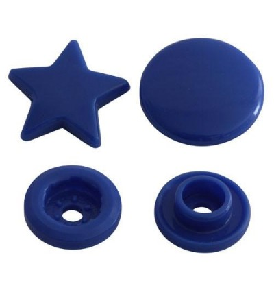 KM120: SUNSET YELLOW B10: STAR Shape KAM Glossy Snap Button Plastic Fastener DIY, 50 Sets [ K1 ]