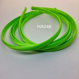 HA048: Green: Kids Headband 10mm, 5 pieces
