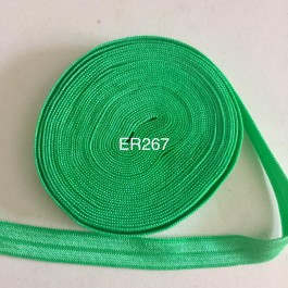 ER267: CLASSIC GREEN: 10mm Elastic Ribbon 5meter/pack