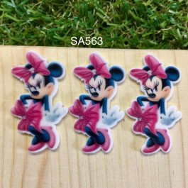 SA563: Minnie Mouse , 5 pieces [ Z11 ]