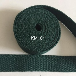 KM181: HUNTER: 20MM Canvas Webbing 2 meter