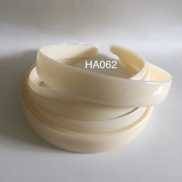 HA062: Ivory Headband 20mm, 5 pieces