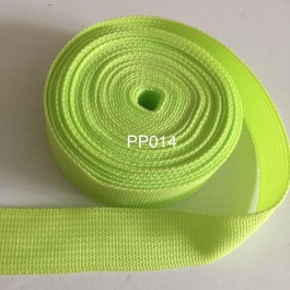 PP014: LIME: Polypropylene Webbing 25mm, 5meter