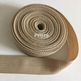 PP019: CANDIED GINGER: Polypropylene Webbing 25mm, 5meter