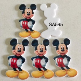 SA595: Mickey Mouse, 5 pieces