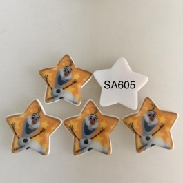 SA605: Olaf Star Shape ,5 pieces