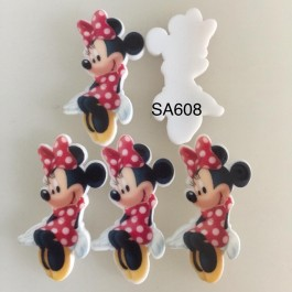 SA608: Minnie Mouse, 5 pieces