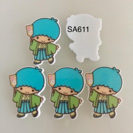 SA611: Boy Twins star, 5 pieces