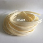 HA060: Ivory Headband 9mm, 5 pieces