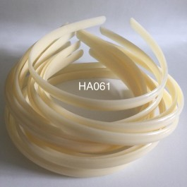 HA061: Ivory Headband 10mm, 5 pieces