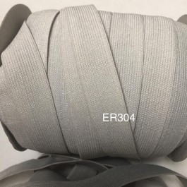 ER304: Shell Grey: 18mm Waist Band 5meter
