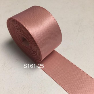 S161-25: SWEET NECTAR: Double Faced Satin Ribbon 25mm, 5Meter