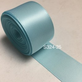 S324-25: MINERAL ICE: Double Faced Satin Ribbon 25mm, 5Meter