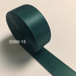 S589-15: HUNTER: Double Faced Satin Ribbon 15mm, 5Meter/pack