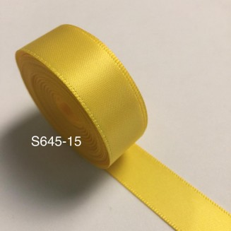 S645-15: DAFFODIL: Double Faced Satin Ribbon 15mm, 5Meter/pack