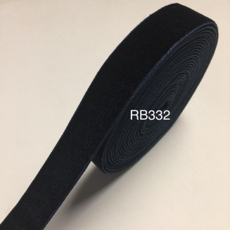 RB332: Navy Velvet Ribbon 20mm, 5Meter