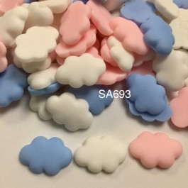SA693: Cloud Resin 25x17mm, 20 pieces [ A9 ]