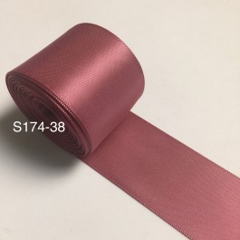 S174-38: VICTORIAN ROSE: Double Faced Satin Ribbon 38mm, 5Meter