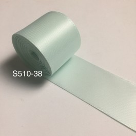 S510-38: ICE MINT: Double Faced Satin Ribbon 38mm, 5Meter