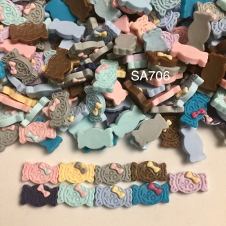 SA706: Candy Resin 13x8mm, 50 pieces [ B2 ]