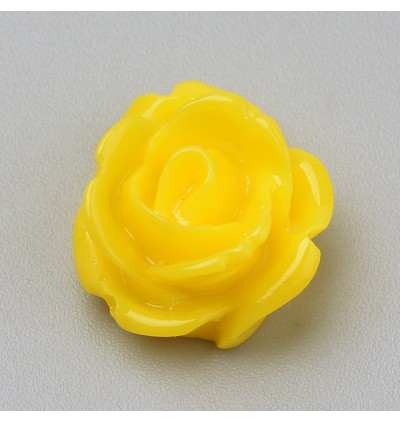 SA704: 50 pieces 12 mm Rose Flower Resin Cabochons for DIY Craft Handmade Jewelry [ A9 ]