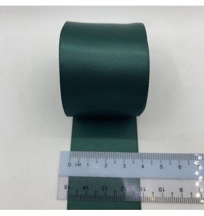 S593-38: SPRUCE: Double Faced Satin Ribbon 38mm, 5Meter