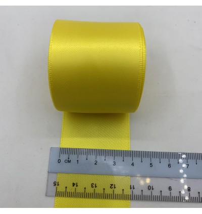 S645-38: DAFFODIL: Double Faced Satin Ribbon 38mm, 5Meter