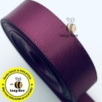 S793 RAISIN: 5 meter Double Faced Satin Ribbon Wedding DIY Craft Bow knot Perkahwinan Borong Balut Reben