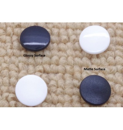 KM286: WHITE B3: T3 (10.3mm) KAM Glossy Snap Button Plastic Fastener DIY, 50 Sets [ L8 ]