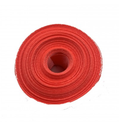 S238-25: LT CORAL: Double Faced Satin Ribbon 25mm, 5Meter