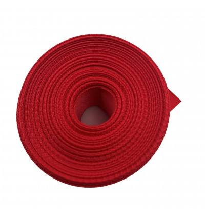 S264-25: RUBY: Double Faced Satin Ribbon 25mm, 5Meter