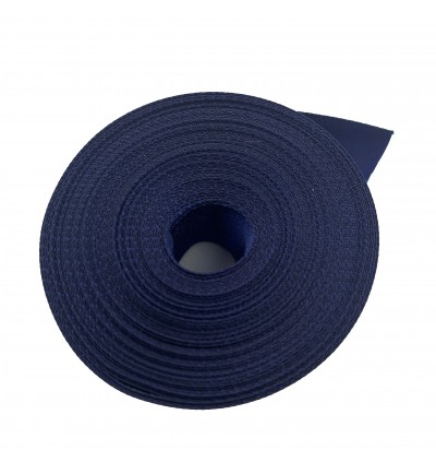 S370-25: NAVY: Double Faced Satin Ribbon 25mm, 5Meter