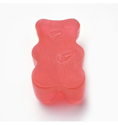 SA762: 20 pieces Gummy Bear Resin Cabochons 17.5x10.5mm [ B13 ]