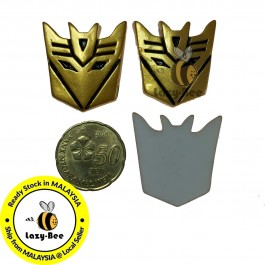 SA815: Transformer Decepticon Resin 28x31mm, 5 pcs [ C3 ]