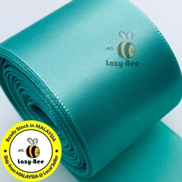 A323-38 Tropic: 5 meter 38mm SINGLE Faced Satin Ribbon