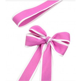 RB379: 25 yards 28mm Width HOT PINK Ribbon DIY Craft Florist hand-tied bouquet flowers ribbon bows roses solid color Korean
