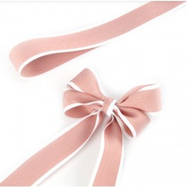 RB382: 25 yards 28mm Width PEONY Ribbon DIY Craft Florist hand-tied bouquet flowers ribbon bows roses solid color Korean