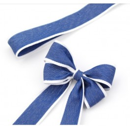 RB383: 25 yards 28mm Width NAVY Ribbon DIY Craft Florist hand-tied bouquet flowers ribbon bows roses solid color Korean
