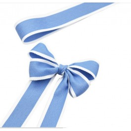 RB384: 25 yards 28mm Width BLUE Ribbon DIY Craft Florist hand-tied bouquet flowers ribbon bows roses solid color Korean