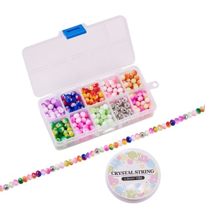 BC141: DIY Jewelry Making with Two Tone Glass Beads
