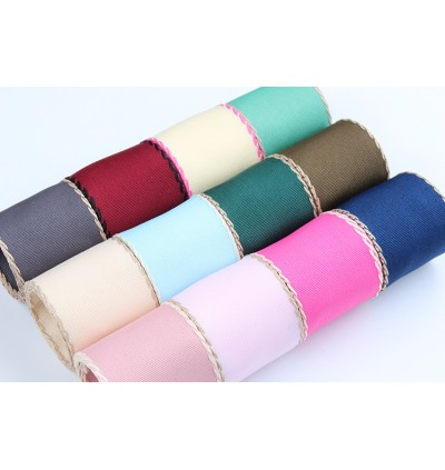 5 meter 10mm / 16mm / 25mm / 38mm Ribbon with Thread DIY Hair Accessory Hair Bow Knot