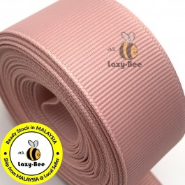 R161 SWEET NECTAR: 5 meter Grosgrain Ribbon Wedding DIY Craft Bow knot Perkahwinan Borong Balut Reben