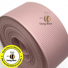 R164 ANTIQUE MAUVE: 5 meter Grosgrain Ribbon Wedding DIY Craft Bow knot Perkahwinan Borong Balut Reben