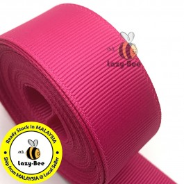 R187 AZALEA: 5 meter Grosgrain Ribbon Wedding DIY Craft Bow knot Perkahwinan Borong Balut Reben