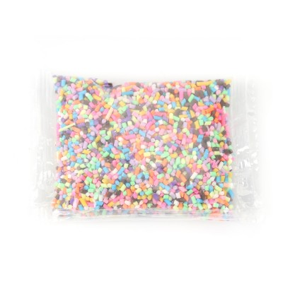 Nail Art DIY Polymer Clay Fake Candy Creamy Sprinkle Phone Shell Decor Fake Sprinkles for Slime Topping