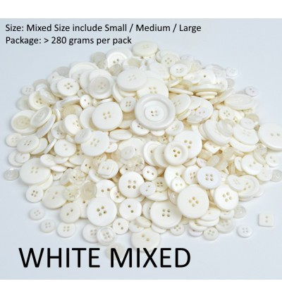 280 grams 7mm-30mm Sizes Mixed DIY Making Hand Knitting Doll Clothing Buttons Resin Assorted Sewing Accessory Scrapbooking DIY kid craft
